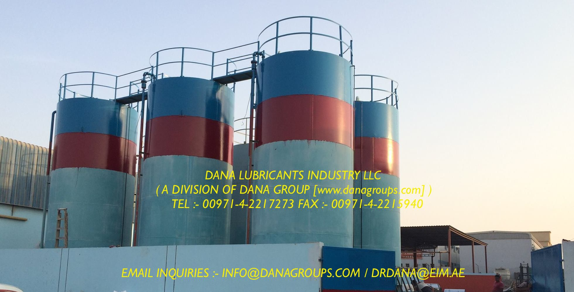 Automotive Lubricants Motor Oil Grease In Uae Dana
