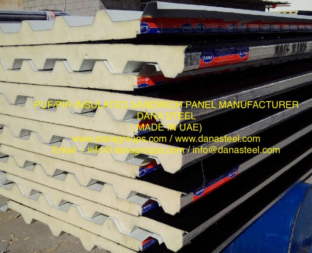 puf_insulated_sandwich_panel_manufacturer_dubai_sharjah_uaq