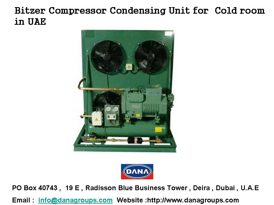 Cold Room Refrigeration Equipments Compressors