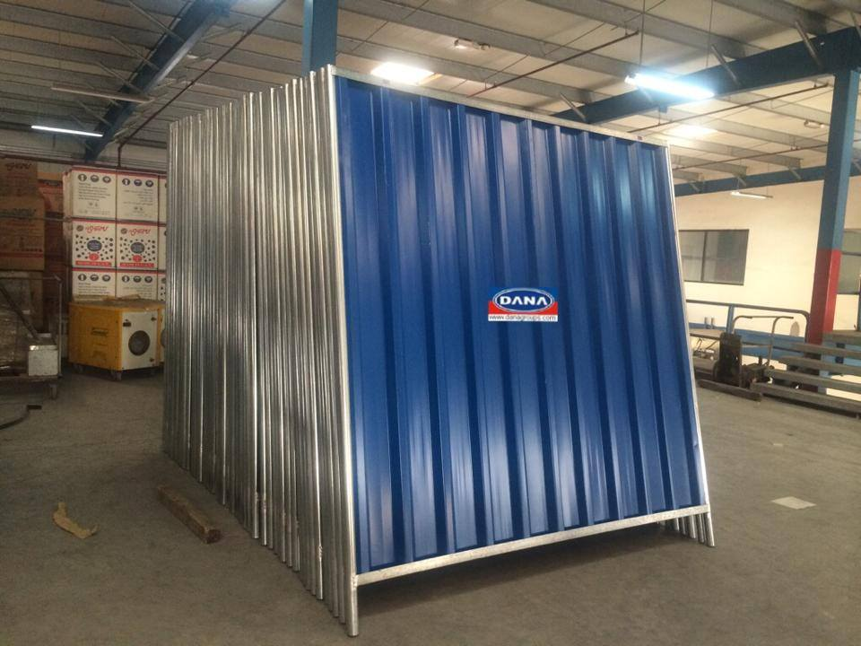 Fencing Sheets Hoarding Panels Corrugated Supplier In